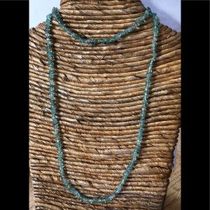 Jewelry - 🛍GORGEOUS🎀NATURAL BLUE APATITE NECKLACE ✨